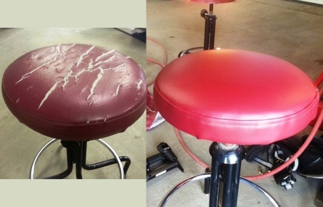 Bar Stool Seat Recovering Service